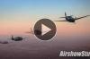 WATCH:  Classic Warbird Sunset Flight - Ride Along With Six TBM Avengers!