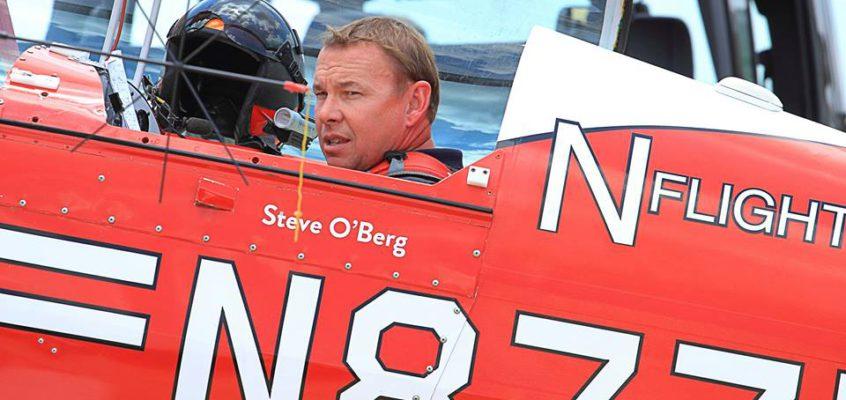 Pilot Steve O'Berg Killed In Saturday Crash At Cameron Airshow