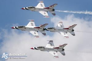 USAF Thunderbirds - Vectren Dayton Airshow 2015