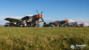 P-51 Mustangs - EAA AirVenture Oshkosh 2015