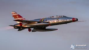 F-100 Super Sabre - EAA AirVenture Oshkosh 2015