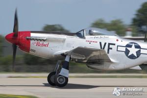 P-51 Mustang - EAA AirVenture Oshkosh 2015