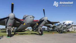 de Havilland Mosquitos - EAA AirVenture Oshkosh 2015