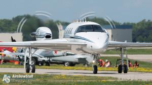 Burt Rutan Tribute - Beechcraft Starship - EAA AirVenture Oshkosh 2015