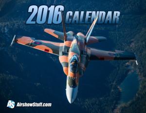 2016 AirshowStuff Calendar