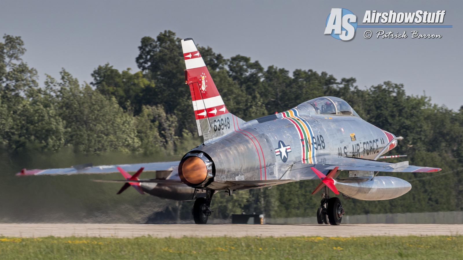 EAA Airventure Oshkosh 2015 - F-100 Super Sabre - Patrick Barron