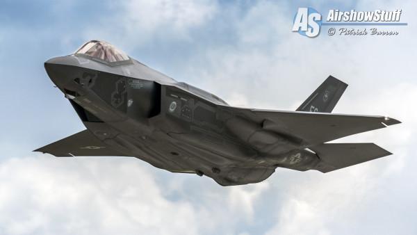 USAF F-35 Lightning II - EAA AirVenture Oshkosh 2015