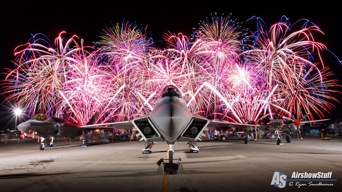 Ryan Sundheimer - EAA Airventure 2015 F-22 Raptor, F-35 Lightning II, P-38 Lightning