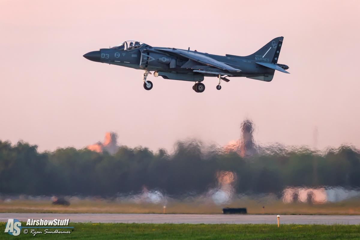 Ryan Sundheimer - EAA Airventure 2015 AV-8B Harrier