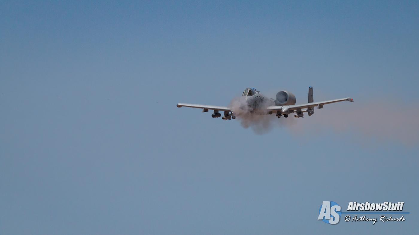 A-10 Thunderbolt II Warthog Hawgsmoke 2016 Barry M Goldwater Range Davis-Monthan AFB Air Force USAF