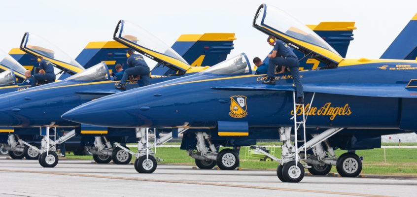 2016 Blue Angels Airshow At Pocono Raceway Canceled