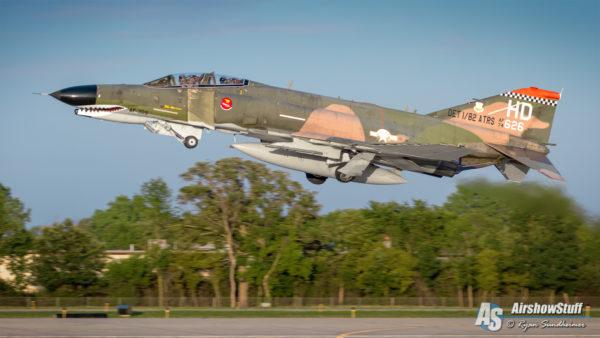 USAF F-4 Phantom II - EAA AirVenture Oshkosh