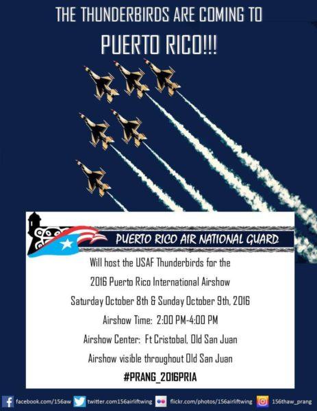 USAF Thunderbirds - Puerto Rico International Airshow
