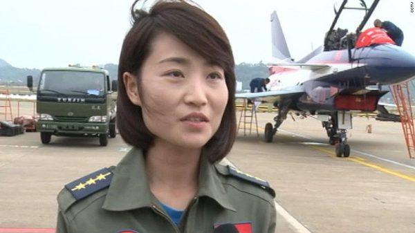 Chinese J-10 Pilot Yu Xu