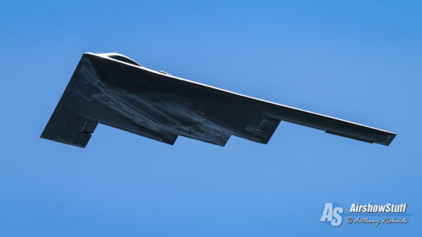 B-2 Spirit Stealth Bomber - Spirit of St Louis Airshow 2016