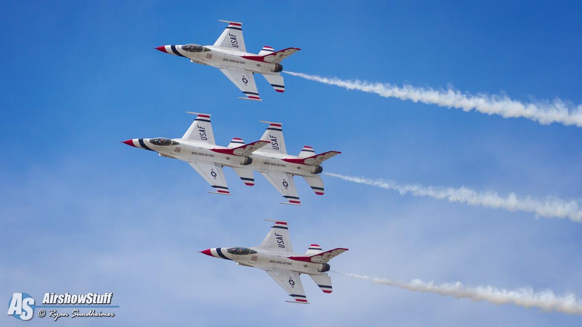 Usaf Thunderbirds Schedule 2019 USAF Thunderbirds 2017 Airshow Schedule Released – AirshowStuff