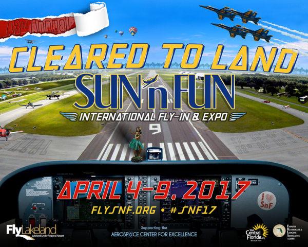 Sun n Fun 2017 Schedule