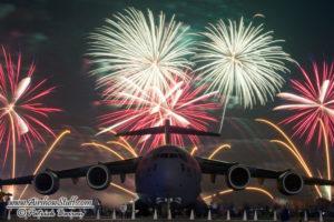 C-17 Globemaster III Fireworks