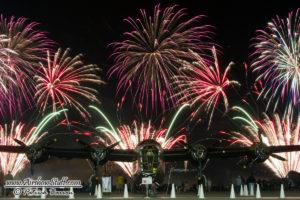 B-24 Liberator Fireworks