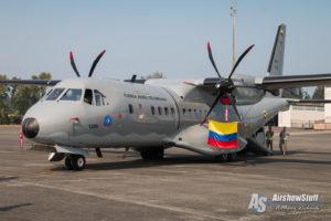 Fuerza Aérea Colombiana CASA 295 Mobility Guardian 2017