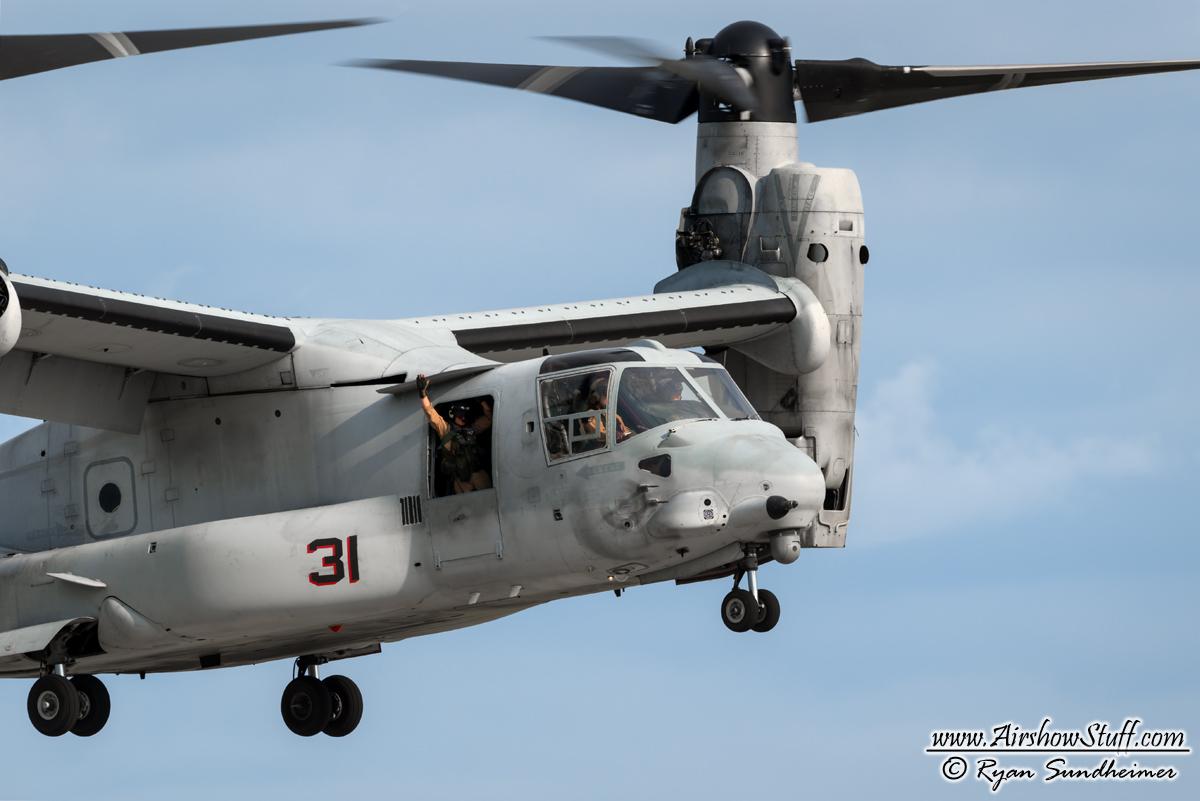 2018 Usmc Mv 22 Osprey Demonstrations Schedule Released