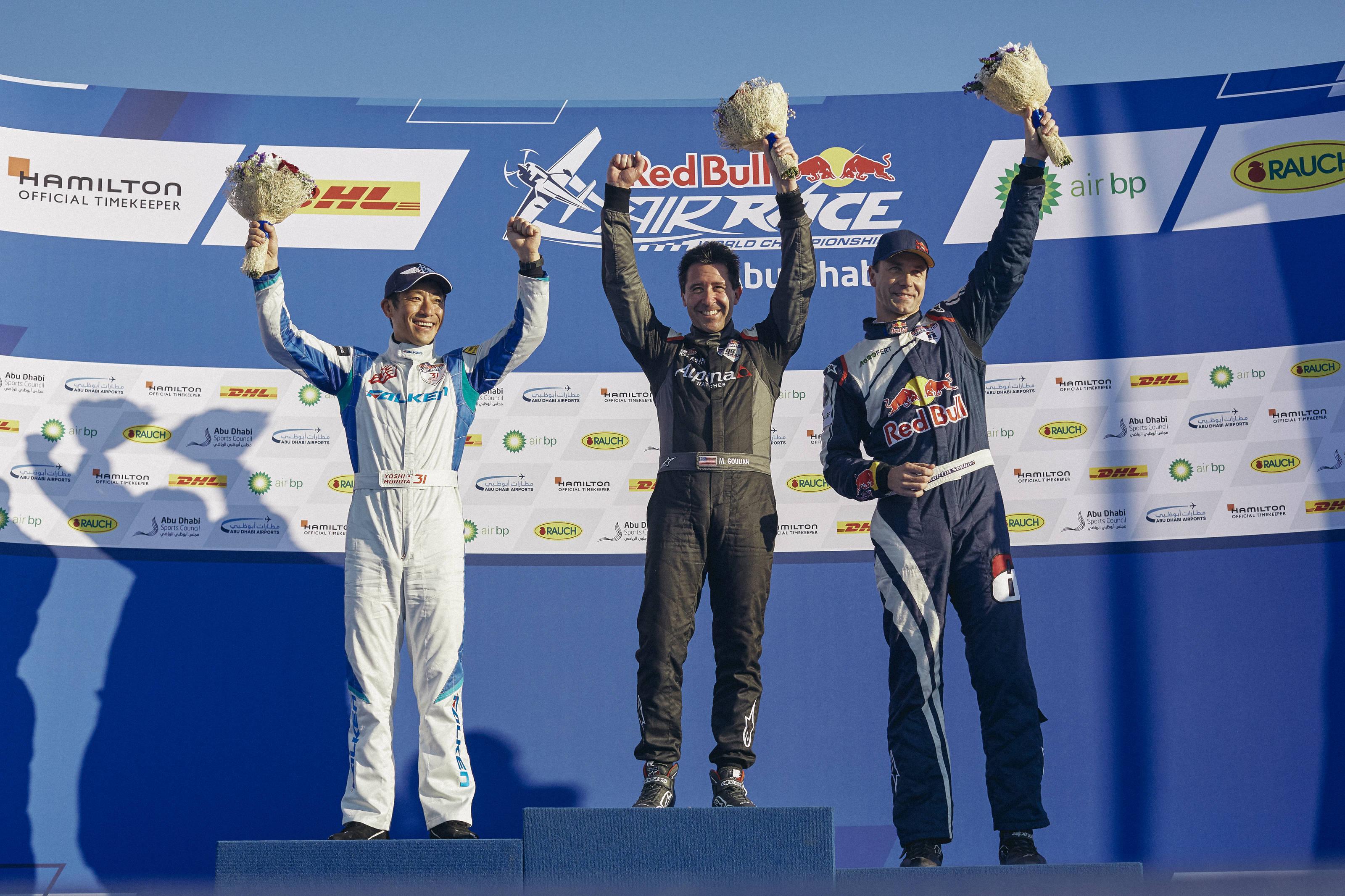 Michael Goulian Wins RBAR Abu Dhabi – Leads 2018 World