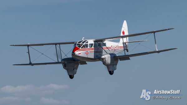 Historic Flight Foundation's DH.89 Dragon Rapide