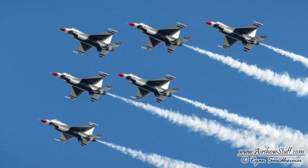 Usaf Thunderbirds Schedule 2019 USAF Thunderbirds 2019 Airshow Schedule Released – AirshowStuff
