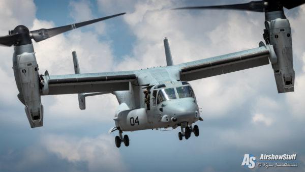 US Marine Corps MV-22 Osprey - AirshowStuff