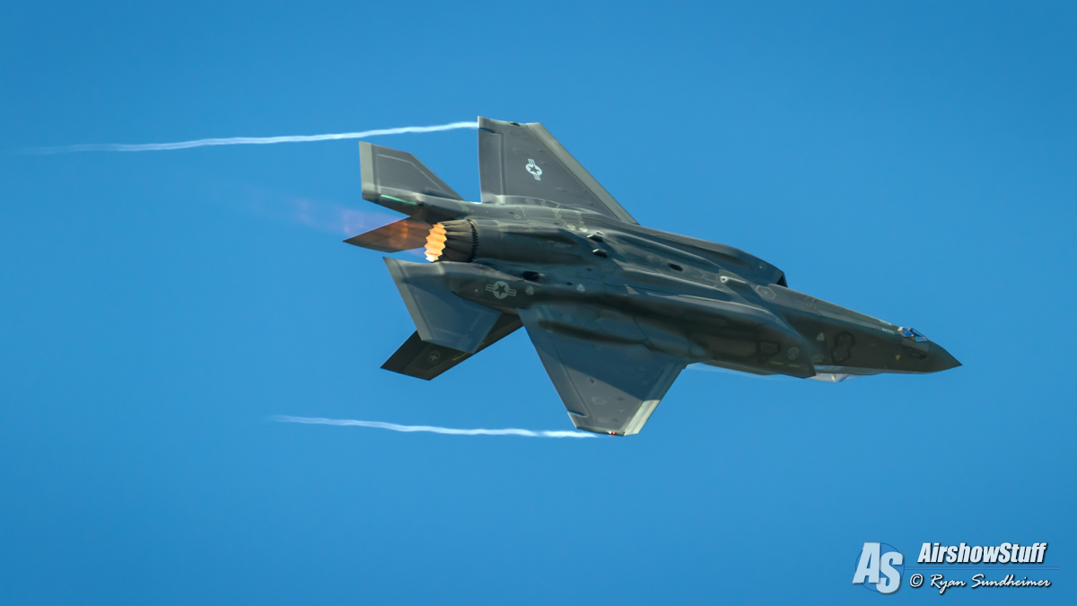 USAF F-35 Lightning II Demonstration Team 2019 Airshow Schedule Released