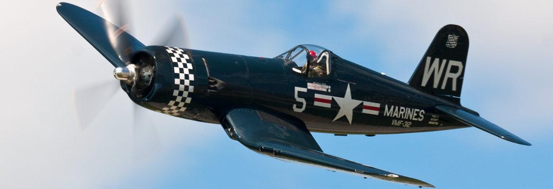 F4U Corsair Banner - AirshowStuff