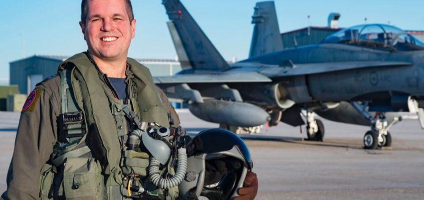New 2020 Canadian Forces CF-18 Hornet Demonstration Team Pilot Announced